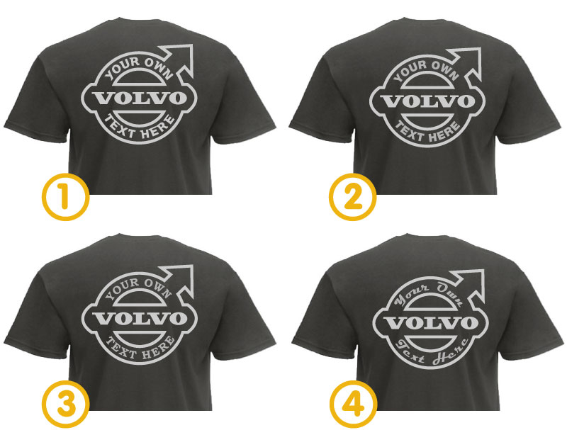 Truckjunkie Your Design T Shirt Volvo